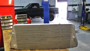 Mishimoto intercooler prototype