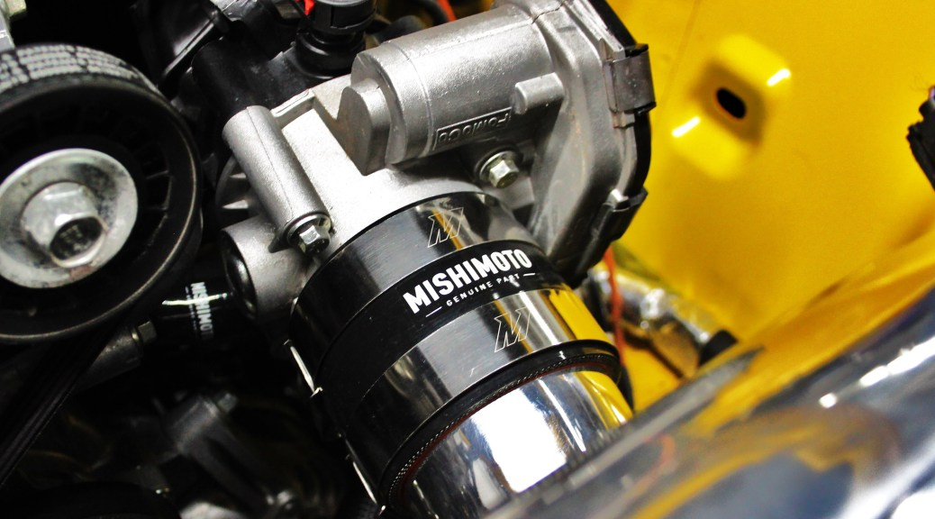 Mishimoto coupler and clamps installed
