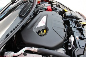 Fiesta ST engine bay