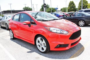 Mishimoto Ford Fiesta ST shop vehicle