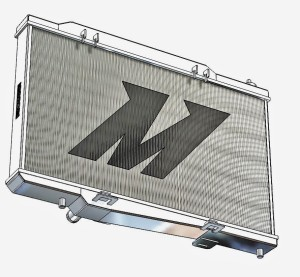Mishimoto Ford Fiesta ST Radiator 3D Model