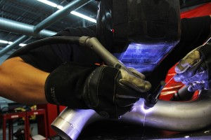 Ford Fiesta ST intake fabrication