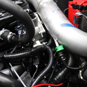 Prototype Fiesta ST intake CCV connection
