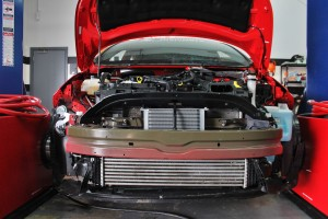 Stock Ford Fiesta ST intercooler