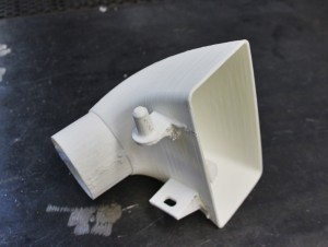 3D printed prototype Fiesta ST performance parts