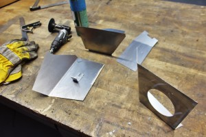Constructing the 350Z air intake airbox