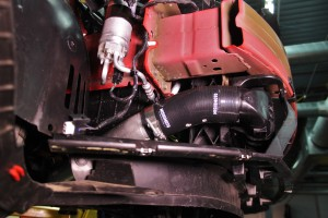 Fiesta ST hot-side intercooler coupler