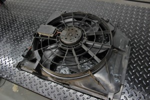 Stock BMW E46 fan shroud
