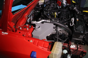3D printed Fiesta expansion tank in relation to other Fiesta ST parts