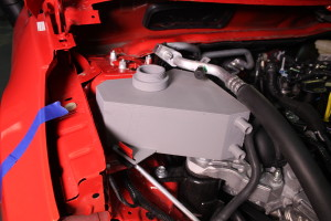 3D printed Fiesta expansion tank installed on the ST