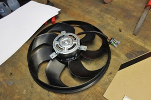 Stock fan assembly