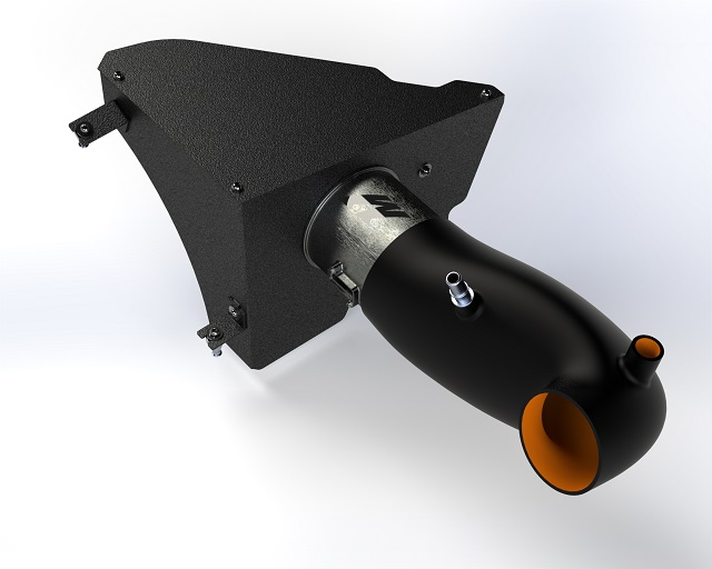 3D rendering of our Camaro cold air intake