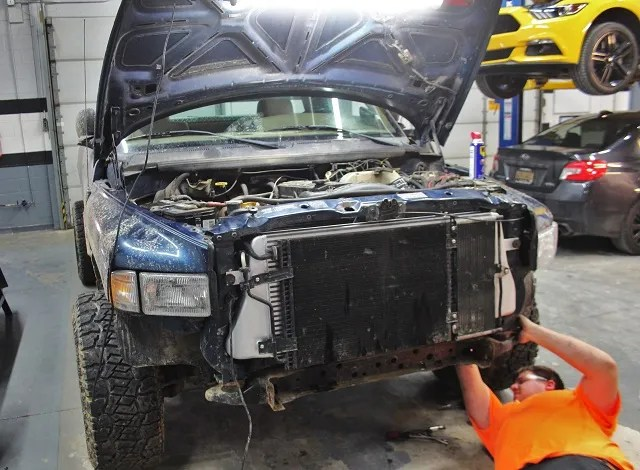 2nd Generation Cummins intercooler