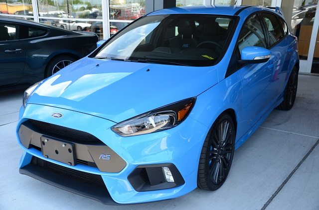 Picking up Mishimoto's brand-new Focus RS