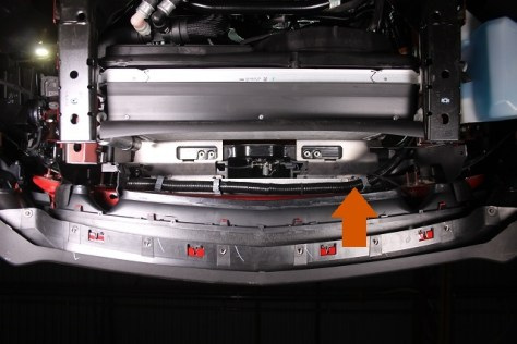 Oil cooler clearance with Mustang parts