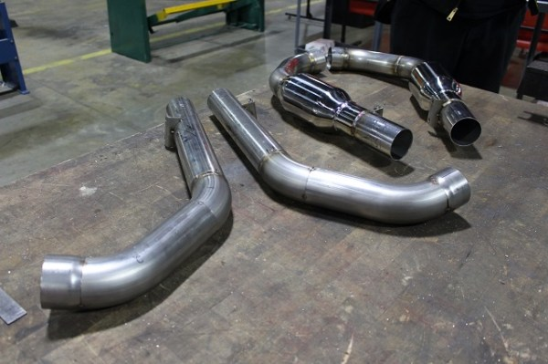 2015 Mustang axleback exhaust prototypes