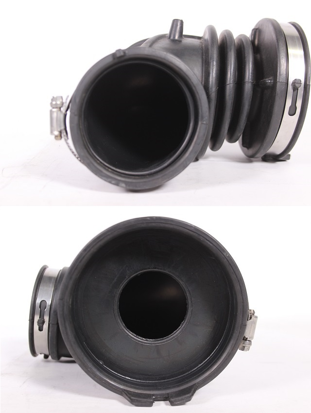Example of the reduced diameter at the turbo opening