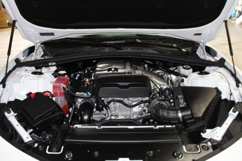 The 2016 Turbo Camaro Engine Bay