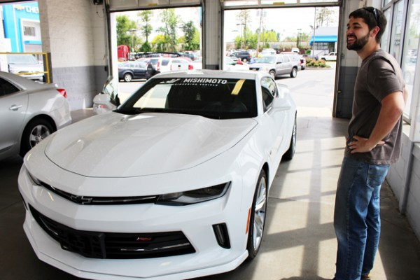 Picking up our 2016 Turbo Camaro