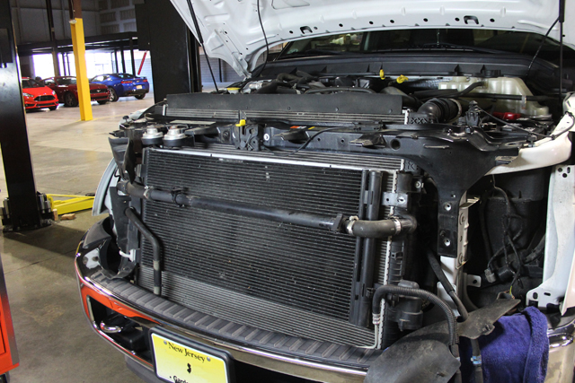 Ford F250 Cooling System