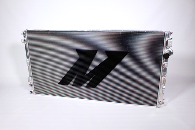 Mishimoto's secondary system Super Duty radiator.