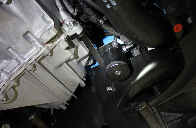 Focus RS catch can installed