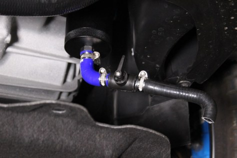 Focus RS catch can kit installed