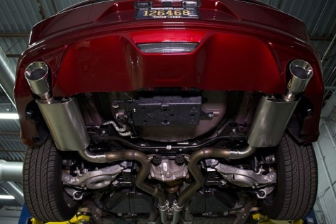 Mishimoto's Mustang Axleback Exhaust – Street Version