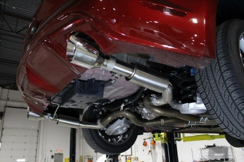 Mishimoto's Mustang Axleback Exhaust – Pro version