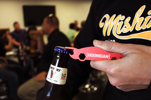 Hoonigan Bottle Opener, included with Hoonigan Oil Cap
