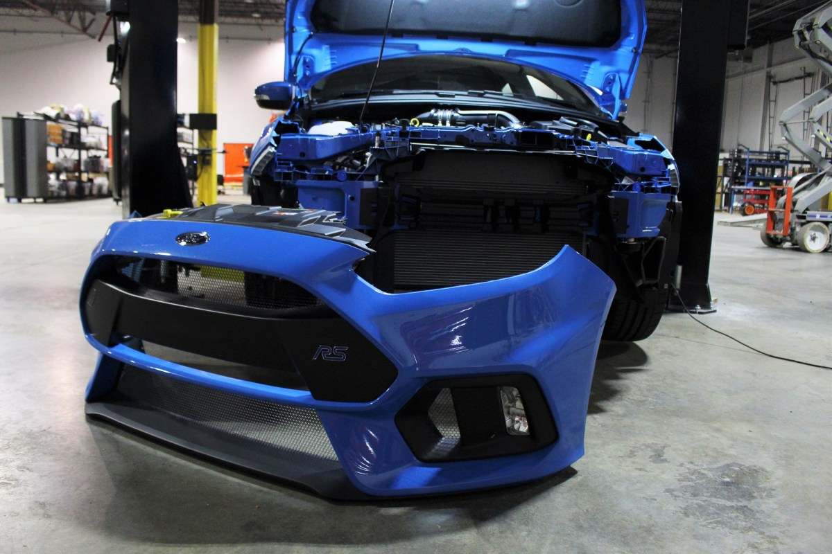 Cool Operator - Ford Focus RS Oil Cooler Part 1: Stock Cooler and Plans
