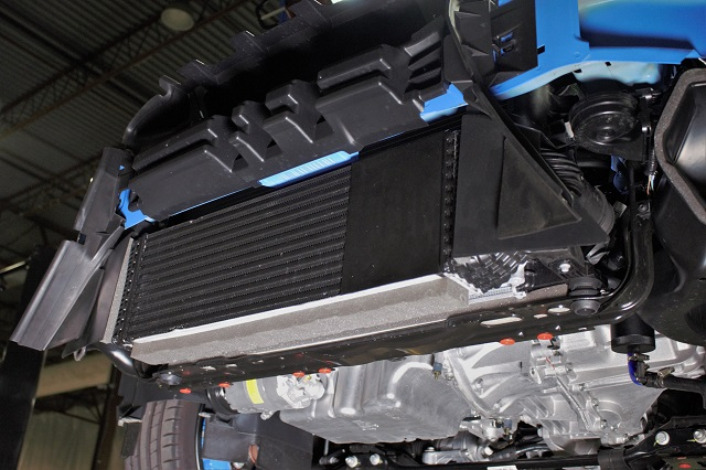 Stock Focus RS intercooler