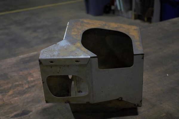 Freshly made airbox!