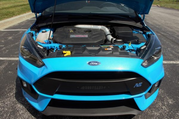 The 2016+ Ford Focus RS sitting pretty with the prototype box on