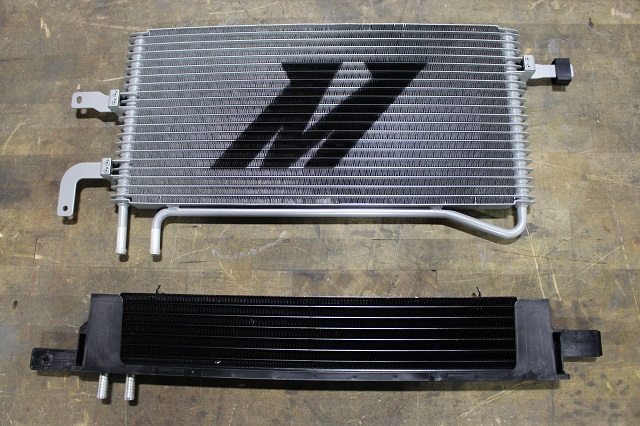 Mustang Trans Coolers