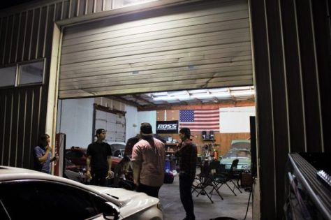 The garage at Jay's Performance