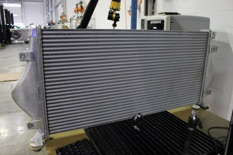 Measuring the stock Titan XD Intercooler