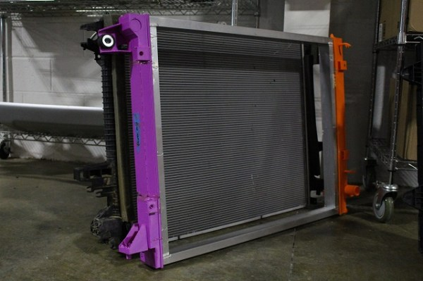 Prototype radiator for test fitment