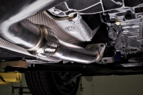Exhaust section right after the downpipe