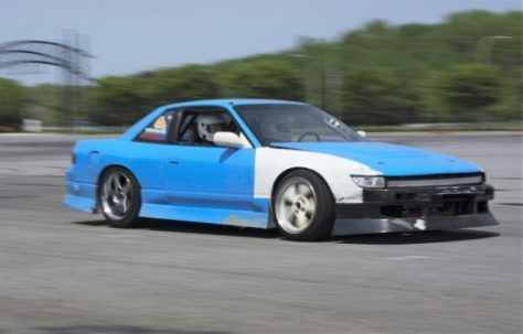 Justin is also getting in on the action in his SR20DET powered 240SX