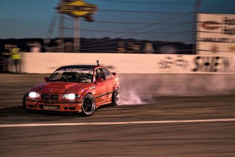 This V8 powered E36 was shredding