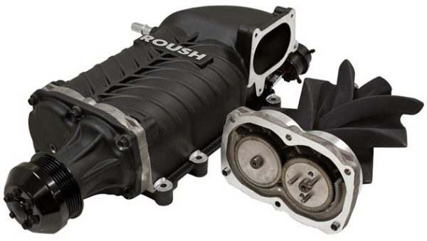 Roush supercharger for newer model Mustangs
