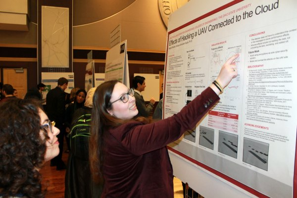 Sixteen Engineering Undergrads Honored Denman