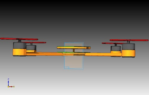 small resolution of the second generation see thumbnails below utilizes a 5 degree upwards tilt for each of the four beams this was a design idea that stemmed from a