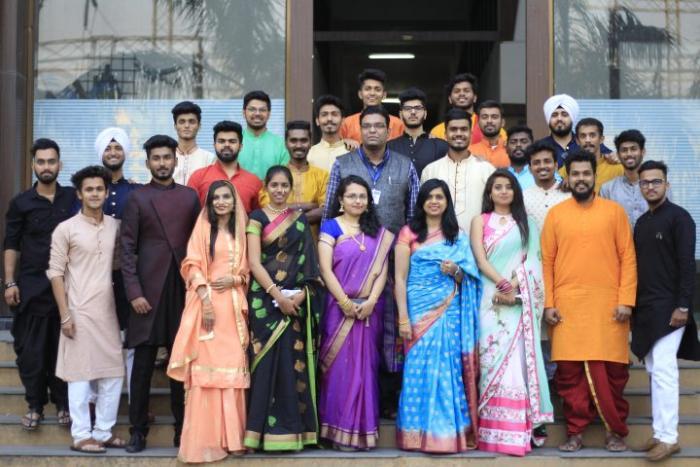 saraswati college traditional day