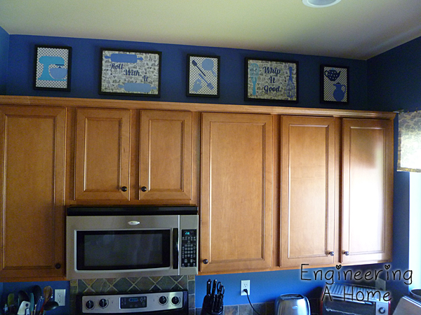 Above the Kitchen Cabinet Decor