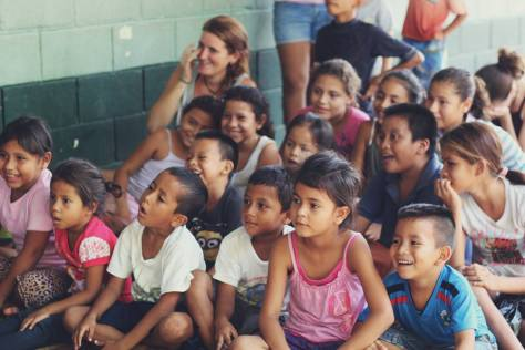 Education workshops with local children