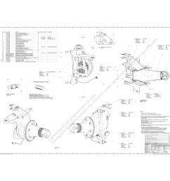 a0 size drawing showing the front suspension upright assembly for the caterham ct05 formula 1 car design engineer matthew alford  [ 2500 x 2500 Pixel ]