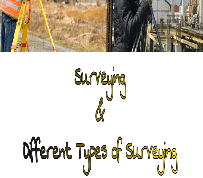 The Uses, Principles, Classifications, and Types of Surveying