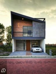 3 floor house located in Puebla Mexico with a contemporary facade and lots of goodies.